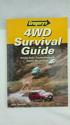 Outback Travel Guide Camping 4WD SUV Survival Offroad Bush Driving Gregorys Book