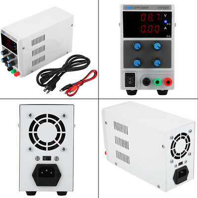 SKYTOPPOWER Variable Regulated DC Power Supply 0-30V/60V 0-3/5/10A Adjustable GS