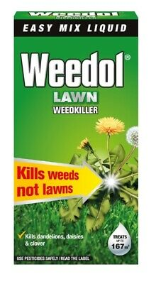 1L Scotts Weedol Verdone Fast-Acting Lawn Weedkiller Concentrate Weeds Patio