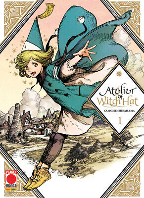Planet Manga - Atelier of Witch Hat 1 - Nuovo !!!