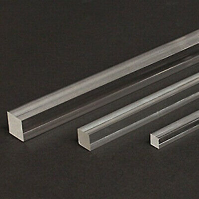 Acrylic Square Perspex Rod Clear Various Sizes