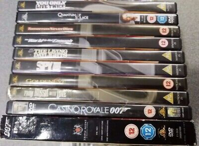 007 - 12 DVD Bundle - Preowned - Fast Dispatch