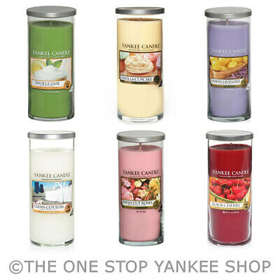 SAVE 20% - Yankee Candle Large Pillar Decor Scented Candle Variety