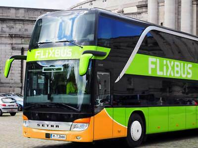 4x1Flixbus Coupon/Sconto kupon rabbatt 15% each for trips until 31 November 2019