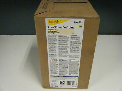 Diversey Suma Prime Cut Degreaser 9.46L / 2.5 Gal Envirobox Concentrate