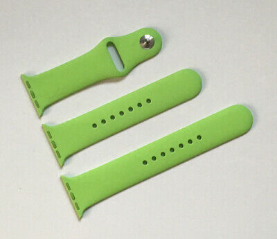 GENUINE APPLE WATCH GREEN SPORT BAND STRAP 38mm / 40mm Series 1/2/3/4