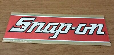 Genuine Extremely Rare 1980's Snap on Vintage Retro Sticker Decal, FREE POSTAGE