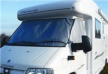 Motorhome External Silver Thermal Screen Cover Boxer or Fiat Ducato 2002 to 2006