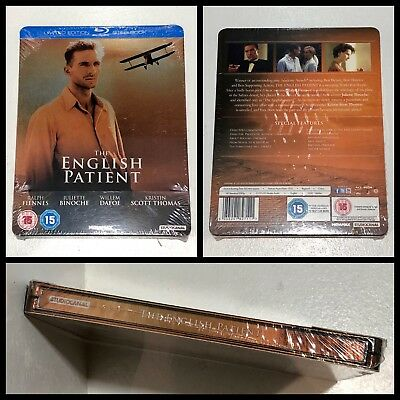 The English Patient 1996 Blu-ray Steelbook Limited Edition UK 2000 Ex.