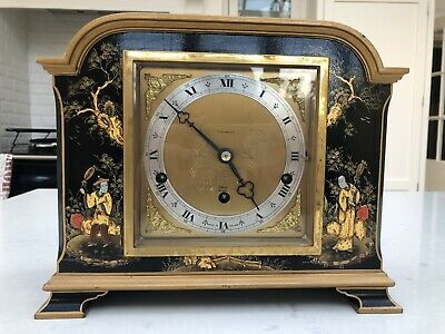 Elliot Chiming Chinoiserie Bracket Clock