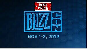 Two Blizzcon 2019 Tickets+Statue+Virtual Ticket Experianced Seller