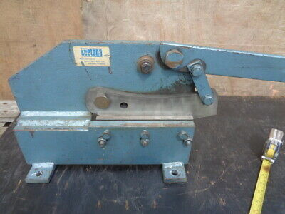 K3 - Metal Shears / Guillotine - Made By Keeton + Sons In Sheffield