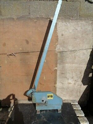 K4 -  Metal Shears / Guillotine - Made By Keeton + Sons In Sheffield