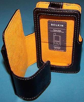 BELKIN Leather Folio Case for XM Helix Inno 2 Inno2 NEW