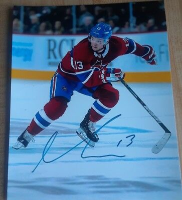 Max Domi Montreal Canadiens 8x10 Photo Signed Autograph Reprint