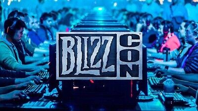 (2) BlizzCon 2019 Passes + Footman+Grunt Statues + Goodies *EXPERIENCED SELLER*