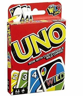 New UNO card Game with Wild Card Children Family Friends Fun Game Latest Version