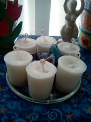 PROTECTION FROM ENEMIES, White & Red, 7 Day Cocktail Candle