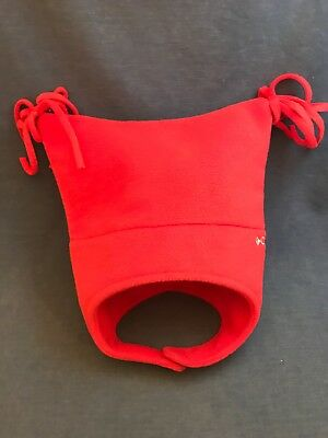 NWT ONE SIZE Columbia Youth Toddler Pigtail Red Hat MSRP$20.00