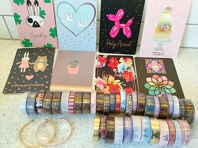 Simply gilded washi Lot
