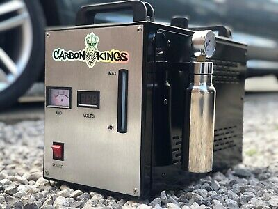 G6 Engine Carbon Cleaning Machine HHO system Hydrogen mobile unit DPF EGR TURBO!