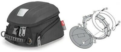 BMW R1200 Rt from Bj. 14 -. Motorcycle Tank Bag Set Givi Mt505 5 L + Mounting