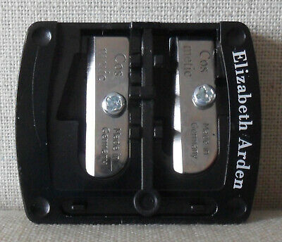 ELIZABETH ARDEN Dual Makeup Pencil Sharpener Brand New For Thin & Fat Pencils
