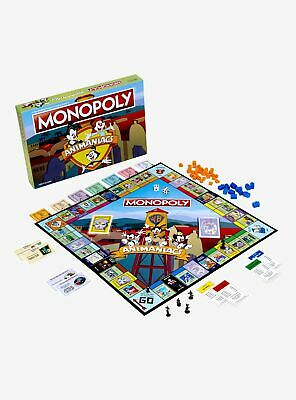 Animaniacs Edition Monopoly Board Game