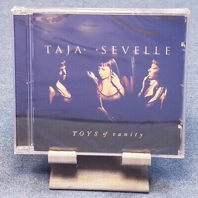 Toys of Vanity by Taja Sevelle (CD, Nov-1997, 550 Music) FACTORY SEALED!!!
