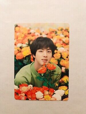 BTS Love Yourself LY Tour JAPAN Concert JIN 4/8 Official Mini Photo Card.