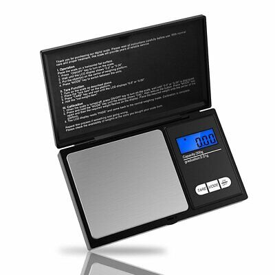 Digital Scale 500g/0.01g Jewelry Gold Silver Coin Gram Pocket Size Herb Grain PO