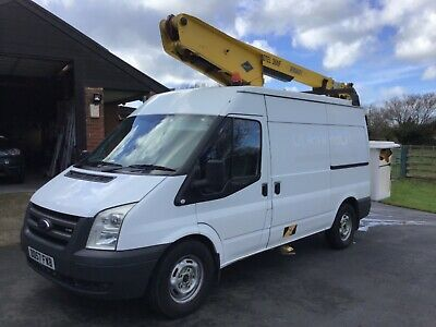 Ford Transit T350 2.4 Tdci Mwb 13.2 Mt Cherry Picker Access Platform 350 Lolar