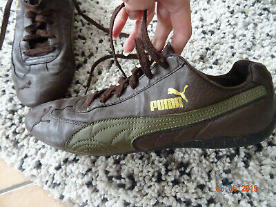 Turnschuhe Sneakers PUMA SPEED CAT braunoliv Gr.39