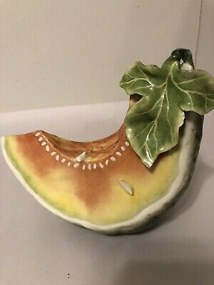Katherine Houston Porcelain Melon Sculpture