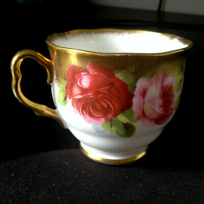 """Very Rare, Cup only-""""Old English Rose"""" Royal Albert Crown China"""""""