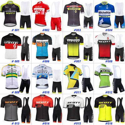 Men's Cycling Jersey Short Sleeve Bicycle Bike Shirt Team Clothing Road MTB Race