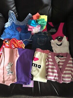 Girls Small Bundle Clothing 12-24 Months