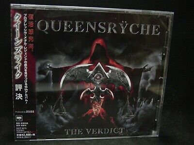 QUEENSRYCHE The Verdict JAPAN CD The Mob Slave To The System U.S. Prog Metal !