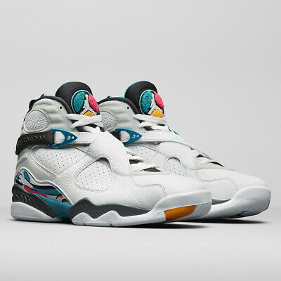 big sale e9b09 d0cce Nike Air Jordan 8 VIII Retro Turbo Green South Beach Size 12. 305381-113
