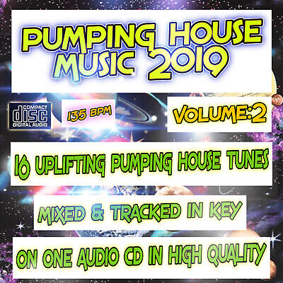 Pumping House Music Vol:2 NEW DJ MIXED CD 🌟Bouncy Uplifting House Club Dance🌟