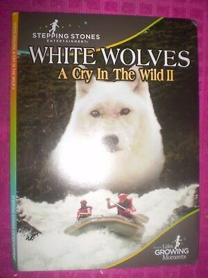White Wolves: A Cry In The Wild Ii  (Dvd 2005)  Stepping Stones Entertainment