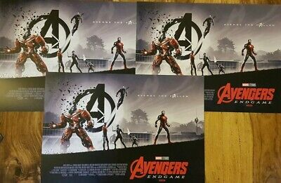 3 x Marvel Avengers Endgame ODEON Exclusive Posters Matt Ferguson,Part 2