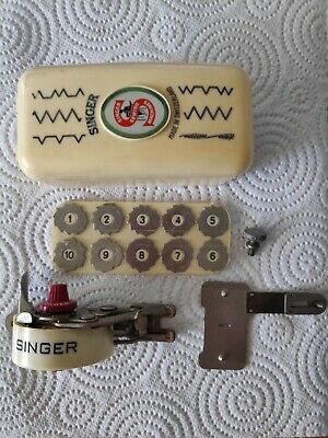 SINGER 160991 Swiss ZigZagger Zig-Zag Attachment Featherweight