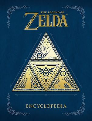 The Legend of Zelda Encyclopedia Hardcover 2018- Free Shipping-Brand New-
