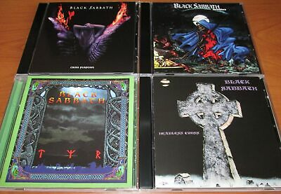 4CD BLACK SABBATH ‎- Headless Cross + Tyr + ‎Cross Purposes + Forbidden (ALBUMS)