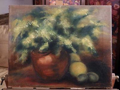 Mid Century 'STILL LIFE COMPOSITION Romayne from California Vintage Oil Painting