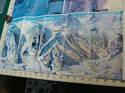 Vintage High Grade SKI brochure: ASPEN 1973-74 reservations incorporated  w MAP