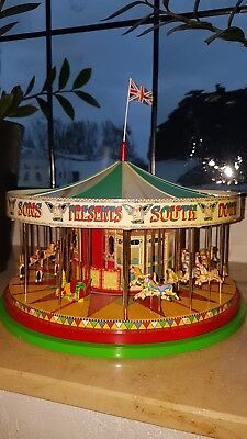 Corgi CC20401 - The South Down Gallopers - Karussell, Spielzeug, Dekoration