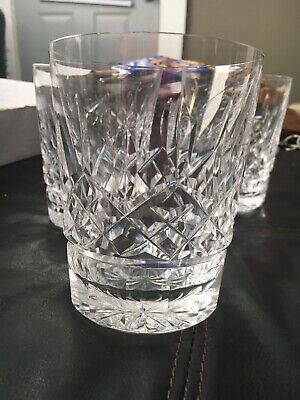 Waterford Crystal Lismore 12-Ounce Double Old Fashion, NIB