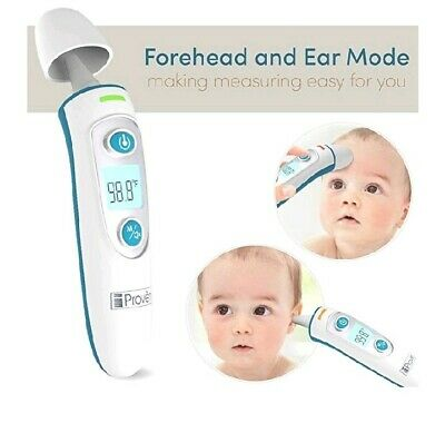 iProven DMT-511 Dual Mode Thermometer Digital Baby FDA Approved Forehead Ear